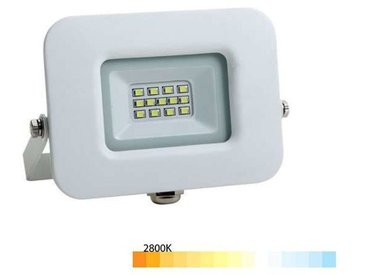 Projecteur LED 50W (300W) Blanc Premium Line IP65 4250 lumens   Blanc - Blanc Chaud (2800K)