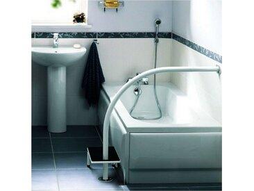 Marchepied et poignée de bain Hydrus Epoxy - Blanc