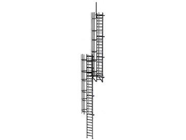B. Echelle crinoline pour une hauteur à franchir de 8.50 a 8.80m