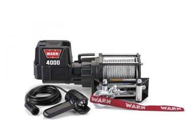 Treuil électrique Warn 12v - DC 4000 - Charge max 1,8 tonnes - Câble 13m et guide câble