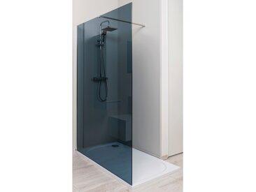 Paroi de douche italienne verre fume 120 X 200 cm
