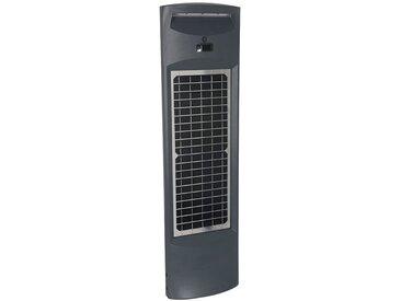 Borne d'éclairage solaire extérieure IP65 avec détection et capteur crépusculaire