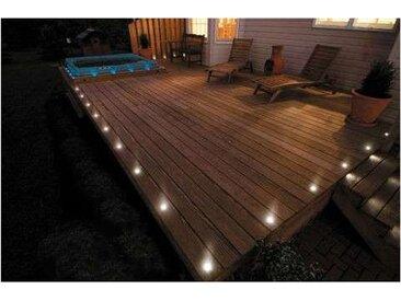 Kit spots LED encastrables ultra-plats | 21 spots LED - RadioFréquence - Blanc Froid 6000K