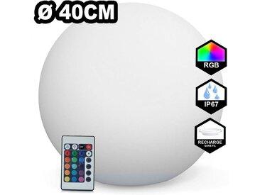 Boule LED Lumineuse Multicolore 40CM