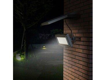 Lampe solaire jardin LED lumière mur extérieurs FLEXIBLE NEW