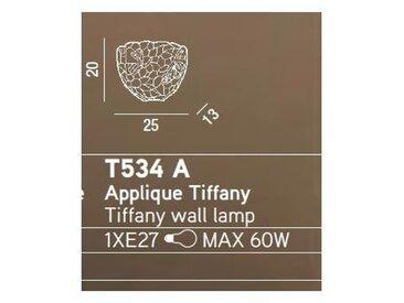 Applique murale Tiffany sconce cm 0 PERENZ T534 A
