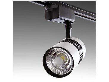 Spot LED Sur Rail 2 Phases 20W 2000Lm 30.000H Kylie | Blanc Neutre (PL-218050-T-CW-W)