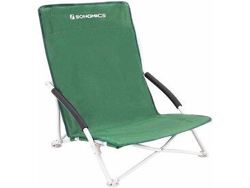 Chaise de Camping Chaise de Plage Fauteuil Pliable de Jardin 61 x 53.5 x 65cm Charge 150kg GCB61GV1