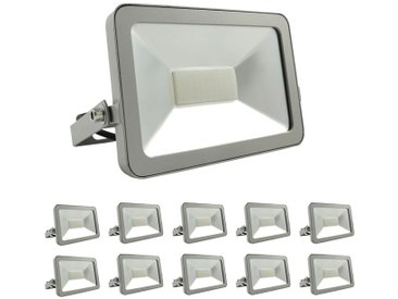10 Projecteurs LED 30W ProLine Blanc froid 6000K Haute Luminosité