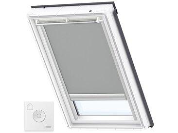 VELUX Original Store Occultant à Énergie Solaire pour Fenêtres de Toit VELUX, UK04, Gris - Gris