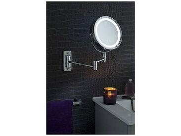 Miroir Grossissant (X5) Lumineux Mural - Diamètre: 17,5 cm