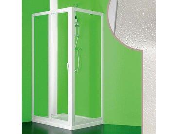 Cabine douche 80x110 CM en acrylique mod. Mercurio avec ouverture centrale
