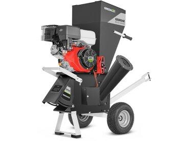 Broyeur thermique pour branches moteur 420cc 18hp starter electrique -GREENCUT