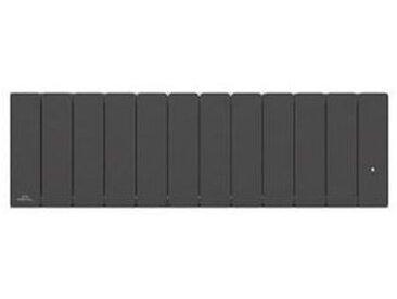 Radiateur Fonte AIRELEC - FONTEA Smart ECOControl 1500W Plinthe Gris Anthracite - A693575