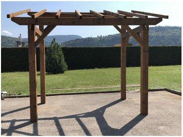 Abri Bûches Robuste - Monopente - Autoportant (5.3 m2 - 1.9m x 2.8m)
