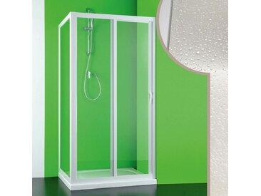 Cabine douche 80x140 CM en acrylique mod. Mercurio avec ouverture laterale