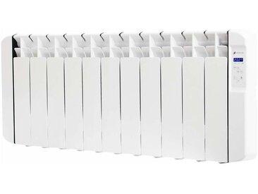 Radiateur électrique à inertie fluide 1250W. Design plinthe