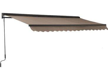Store banne avec semi coffre 2,5 x 2 m - Beige
