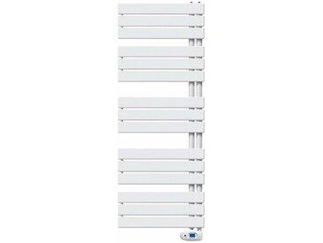 Radiateur sèche-serviettes VARIO électrique - Puissance :1000 W - H= 1840 mm - L=550 mm - BLANC