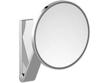 Keuco iLook_move Miroir grossissant, 17612, illuminé, 1 couleur claire, avec 212mm, chromé - 17612019003