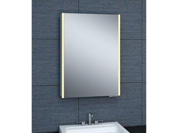 Armoire de toilette aluminium - Modèle NEV 50 - 70 cm x 50 cm (HxL)