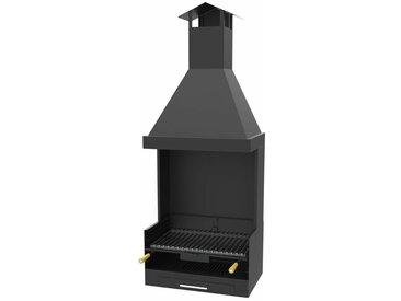Barbecue charbon bois FM BV-13 à poser ou à encastrer