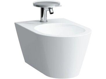 Laufen Kartell bidet mural, 1 trou pour robinet, 370x545x430, Coloris: Blanc - H8303310003021