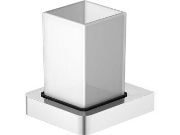 Série 420 Porte-verre avec verre, chromé - 4202001 - Steinberg