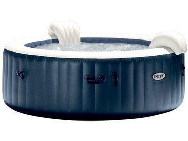 Pure spa 6 places navy rond - bulles, led couleur