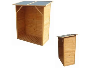 XXL BOIS étagère pour bois de chauffage, tablette pour bois de chauffage, abri pour bois de chauffage