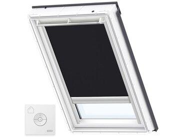 VELUX Original Store Occultant à Énergie Solaire pour Fenêtres de Toit VELUX, UK08, Noir - Noir