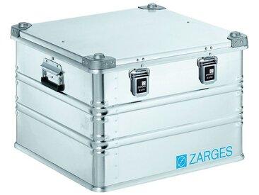 ZARGES Caisse de transport en aluminium, capacité 115 l, L x l x h int. 550 x 550 x 380 mm modèle robuste
