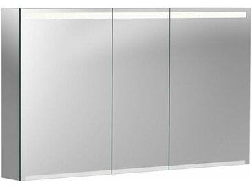Geberit Armoire de toilette Geberit Option avec éclairage, trois portes, largeur 120 cm, 500207001 - 500.207.00.1