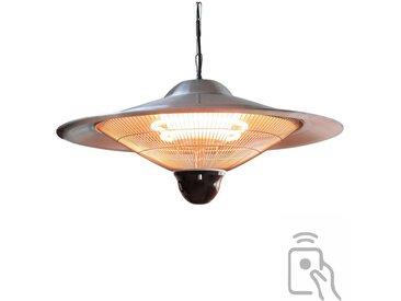 Chauffage électrique suspendu 2500w lampe halogène pour jardin terrasse intérieur