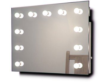 Miroir De Maquillage Hollywood Lampes Led Graduables Blanches Froides K95Cw - Couleur LED : Ampoules LED blanches froides