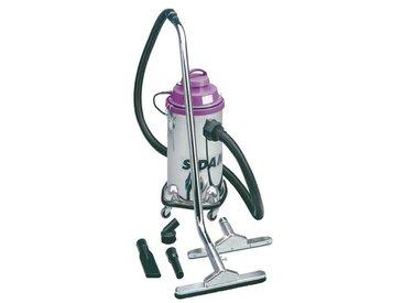 Aspirateur eau et poussières inox 1200 w 30 l