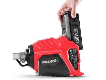 Debroussailleuse a batterie lithium 56V + Batterie 2Ah + Chargeur -GREENCUT