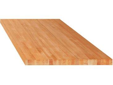 Lista Etabli modulaire, plateau - hêtre massif - l x p 2000 x 750 mm, épaisseur 50 mm