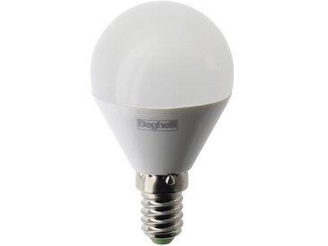 Ampoule Beghelli LED Sphère E14 5W blanc naturel 4000K lumière 56986