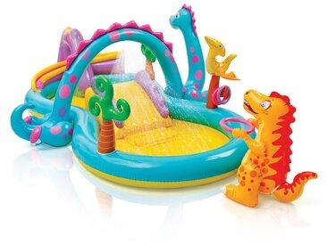 57135 Dinoland Play Center piscine gonflable pour enfants aire de jeux - Intex