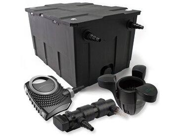 SunSun Kit de filtration de bassin 60000l 24W UVC 6. Stérilisateur NEO7000 50W Pompe et Skimmer