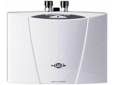 Chauffe-eau électronique instantané SMARTRONIC à commande électronique pour lavabo ou évier - MCX 6 - Débit 3,3 l/min. Puissance : 5,7 kW - 230 Volt - 25 A, avec câble - MONO