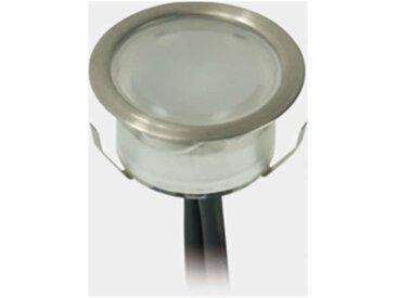 Kit de Mini Spots LED 1W Extérieur Encastrable | Blanc Froid 6000K - 31 spots LED