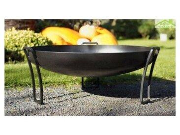 Brasero de jardin PAN au charbon - Avec couvercle