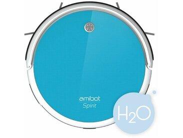 Robot aspirateur et laveur AMIBOT Spirit H2O - Blue