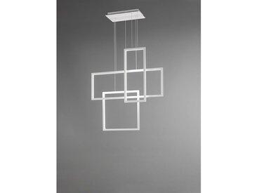 Suspension à LED avec 3 carrés d'alumini cm 0 PERENZ 6592 B LC