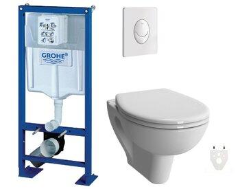 Pack WC suspendu Grohe Verseau sans bride courte