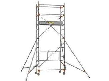 Echafaudage roulant aluminium - Base standard - Longueur 1m65 - STM 165 3, plancher 2m80