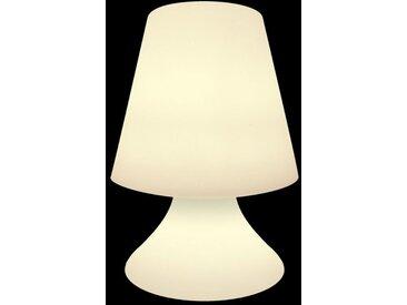 Petite lampe d'extérieur à leds Blanc 27.00 cm x 27.00 cm x 38.00 cm