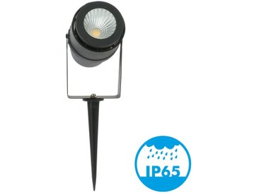 Spot piquet de Jardin LED 12W Noir 720 LM | Température de Couleur: Blanc neutre 4000K